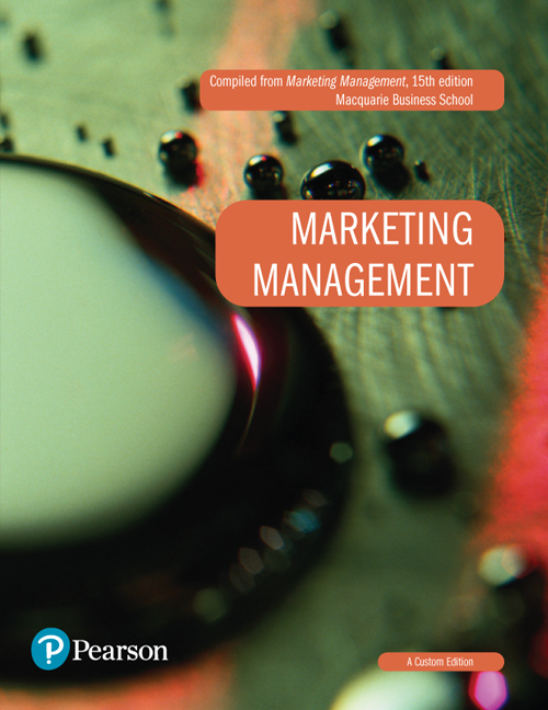 Marketing Management (Custom Edition)