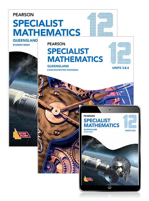 Pearson Specialist Mathematics Queensland 12 Student Book, eBook and Exam Preparation Workbook
