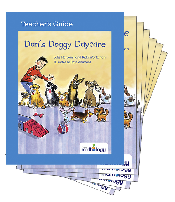 Mathology Little Books - Number: Dan's Doggy Daycare (6 Pack with Teacher's Guide)