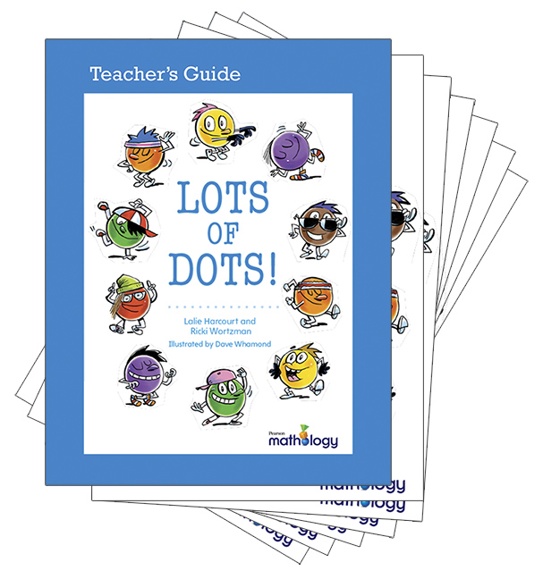 Mathology Little Books - Number: Lots of Dots! (6 Pack with Teacher's Guide)