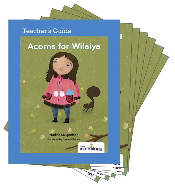 Mathology Little Books - Number: Acorns for Wilaiya (6 Pack with Teacher's Guide)