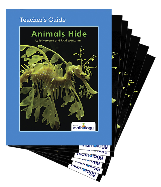 Mathology Little Books - Number: Animals Hide (6 Pack with Teacher's Guide)