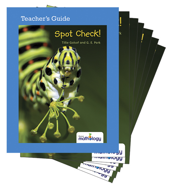 Mathology Little Books - Number: Spot Check! (6 Pack with Teacher's Guide)