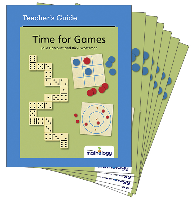 Mathology Little Books - Number: Time for Games (6 Pack with Teacher's Guide)
