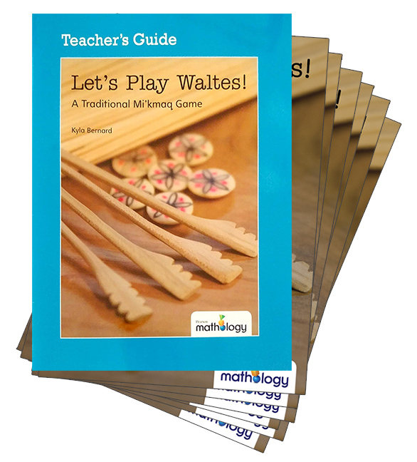 Mathology Little Books - Number: Let's Play Waltes! (6 Pack with Teacher's Guide)