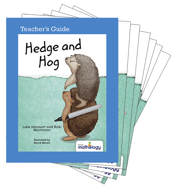 Mathology Little Books - Data Management and Probability: Hedge and Hog (6 Pack with Teacher's Guide)