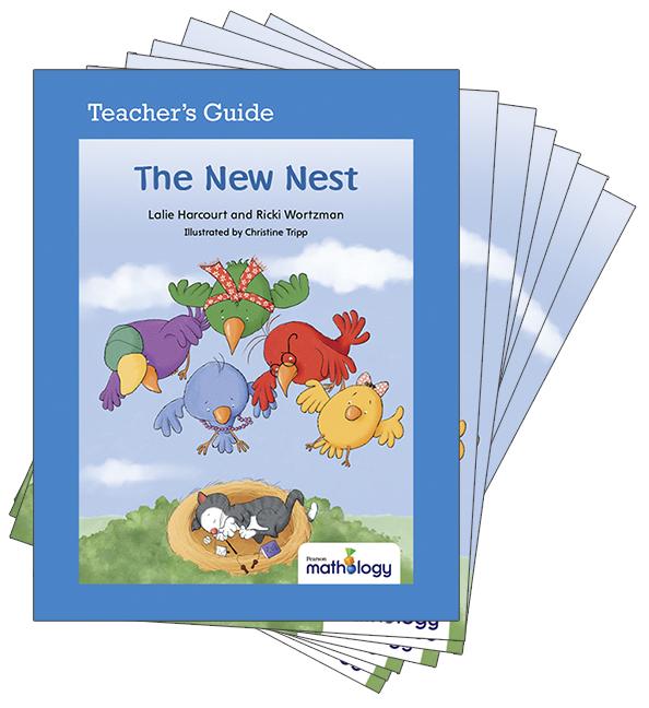 Mathology Little Books - Geometry: The New Nest (6 Pack with Teacher's Guide)