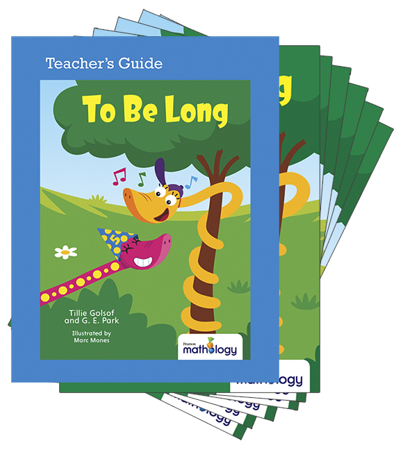 Mathology Little Books - Measurement: To Be Long (6 Pack with Teacher's Guide)