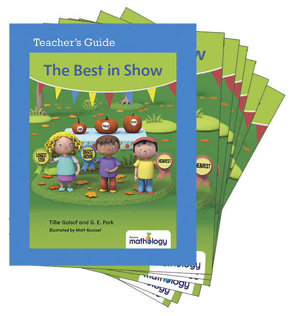Mathology Little Books - Measurement: The Best in Show (6 Pack with Teacher's Guide)