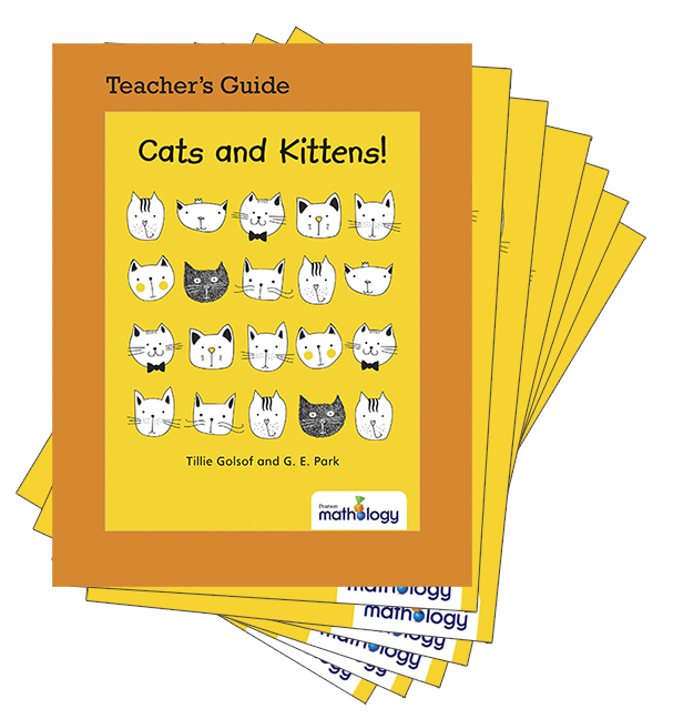 Mathology Little Books - Number: Cats and Kittens! (6 Pack with Teacher's Guide)