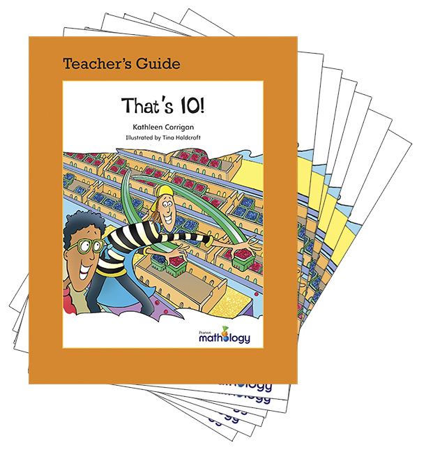 Mathology Little Books - Number: That's 10! (6 Pack with Teacher's Guide)