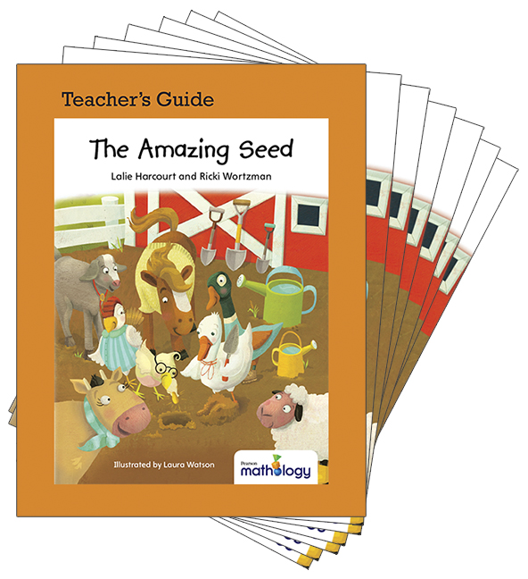 Mathology Little Books - Measurement: The Amazing Seed (6 Pack with Teacher's Guide)