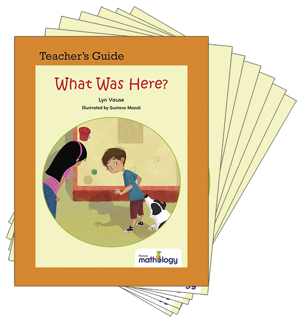 Mathology Little Books - Geometry: What Was Here? (6 Pack with Teacher's Guide)
