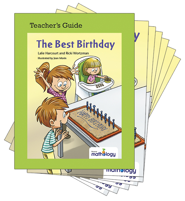 Mathology Little Books - Number: The Best Birthday (6 Pack with Teacher's Guide)