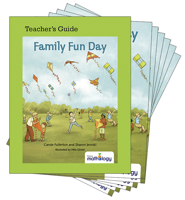 Mathology Little Books - Number: Family Fun Day (6 Pack with Teacher's Guide)