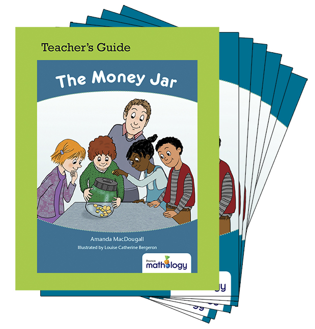 Mathology Little Books - Number: The Money Jar (6 Pack with Teacher's Guide)
