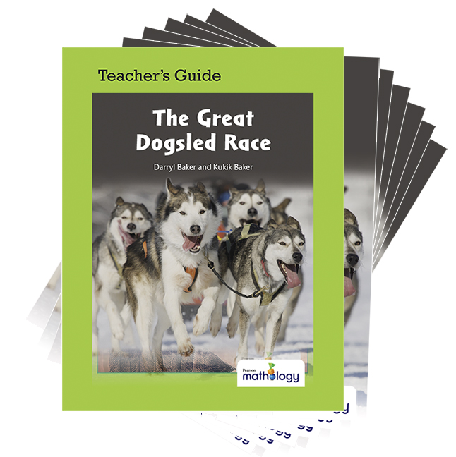Mathology Little Books - Number: The Great Dogsled Race (6 Pack with Teacher's Guide)