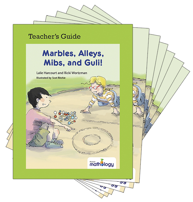 Mathology Little Books - Number: Marbles, Alleys, Mibs, Guli! (6 Pack with Teacher's Guide)