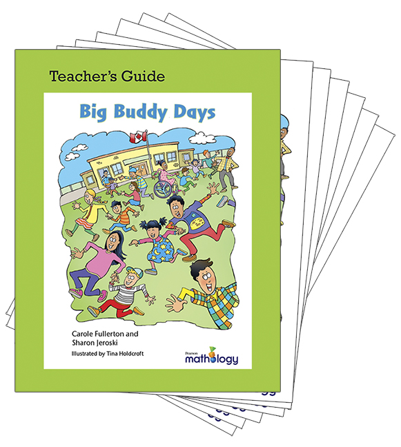 Mathology Little Books - Data Management and Probability: Big Buddy Days (6 Pack with Teacher's Guide)