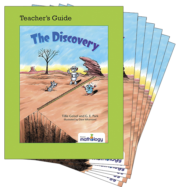 Mathology Little Books - Measurement: The Discovery (6 Pack with Teacher's Guide)