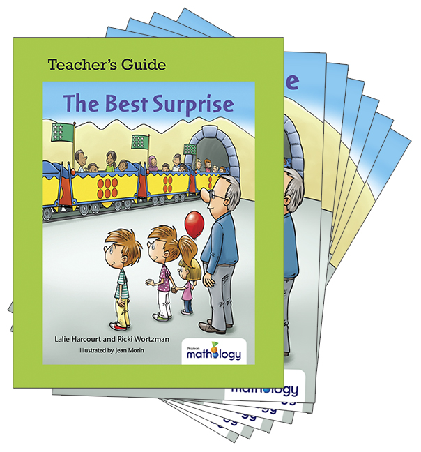 Mathology Little Books - Patterns and Algebra: The Best Surprise (6 Pack with Teacher's Guide)
