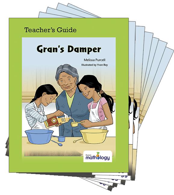 Mathology Little Books - Patterns and Algebra: Gran's Damper (6 Pack with Teacher's Guide)