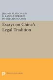 Essays on China's Legal Tradition