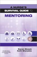 A Nurse's Survival Guide to Mentoring