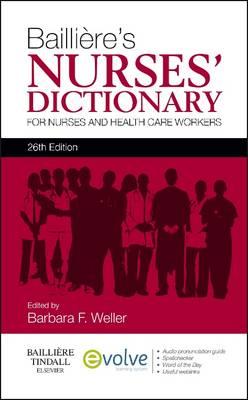 Bailliere's Nurses' Dictionary 26e