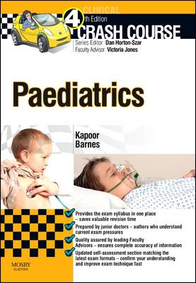 Crash Course Paediatrics Updated Print + eBook edition