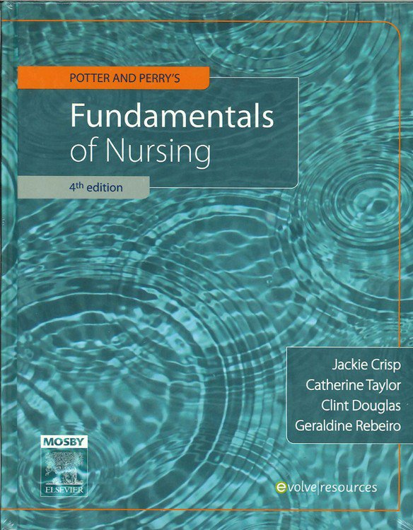 Potter & Perry Fundamentals of Nursing + Clinical Skills Workbook ( Package ) Crisp, Taylor & Rebeiro