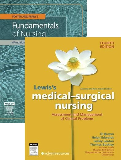 UTS 92313 Potter & Perrys Fundamentals of Nursing 4ed + Lewis's Medial Surgical Nursing ANZ 4ed
