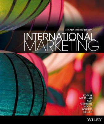 International Marketing Fourth Asia Pacific Edition+the Global Financial Crisis: Implications for Australasian Business