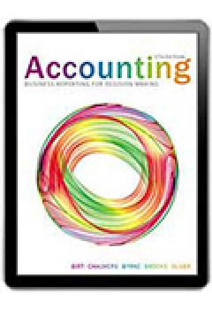 Accounting Business Reporting for Decision Making Wiley E-text: Powered By Vitalsource with Istudy Card