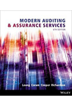 Modern Auditing and Assurance Services 6E+iStudy Version 3 Card