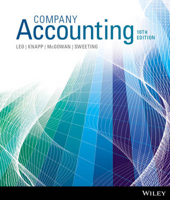 Company Accounting 10th Edition with WileyPLUS Reg Card (with new copies only)