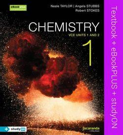 Chemistry 1: VCE Units 1 and 2 & eBookPLUS + StudyOn