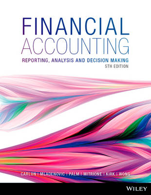 Financial Accounting: Reporting, Analysis and Decision Making 5E+WileyPLUS Stand-Alone Card