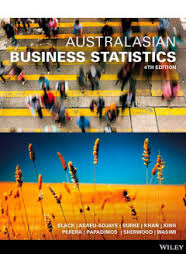 Australasian Business Statistics + Wileyplus Stand-Alone Card