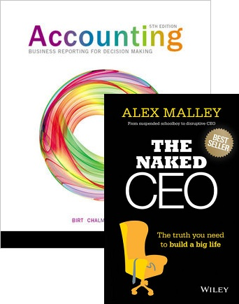 Accounting Business Reporting for Decision Making 5e+Accounting Business Reporting for Decision Making Istudy Version 3 Reg Card+the Naked CEO