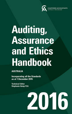 Auditing, Assurance And Ethics Handbook 2016 Australia + E-Text Card