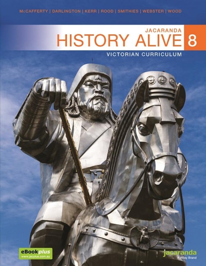 Jacaranda History Alive 8 Victorian Curriculum LearnON (Book Code)