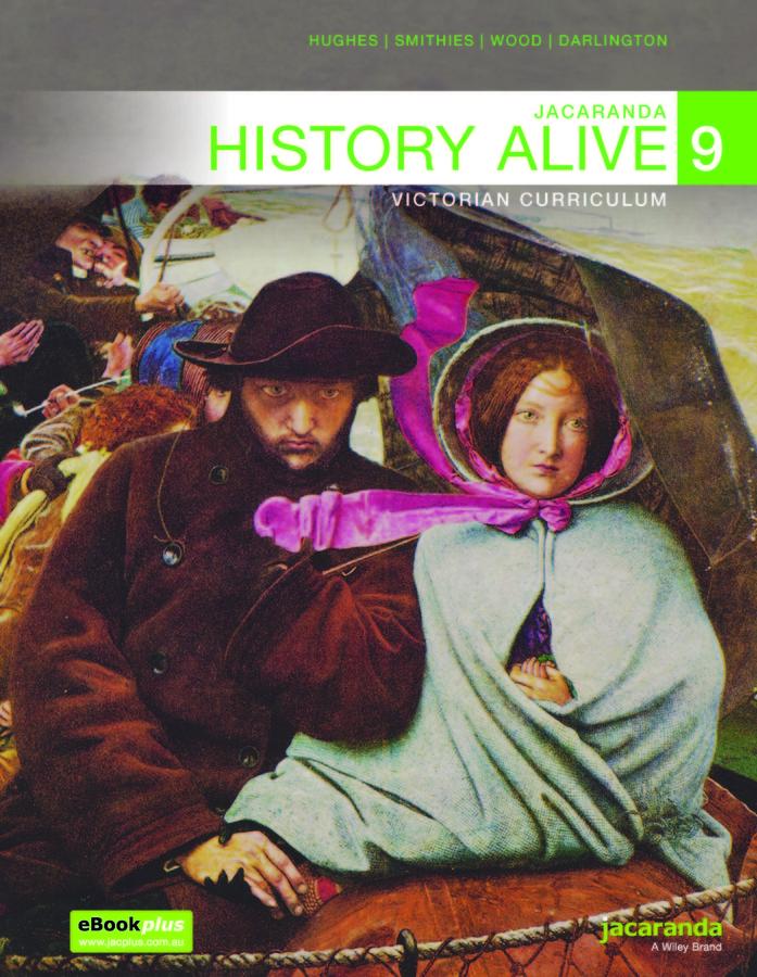 Jacaranda History Alive 9 Victorian Curriculum 2e Family ISBN