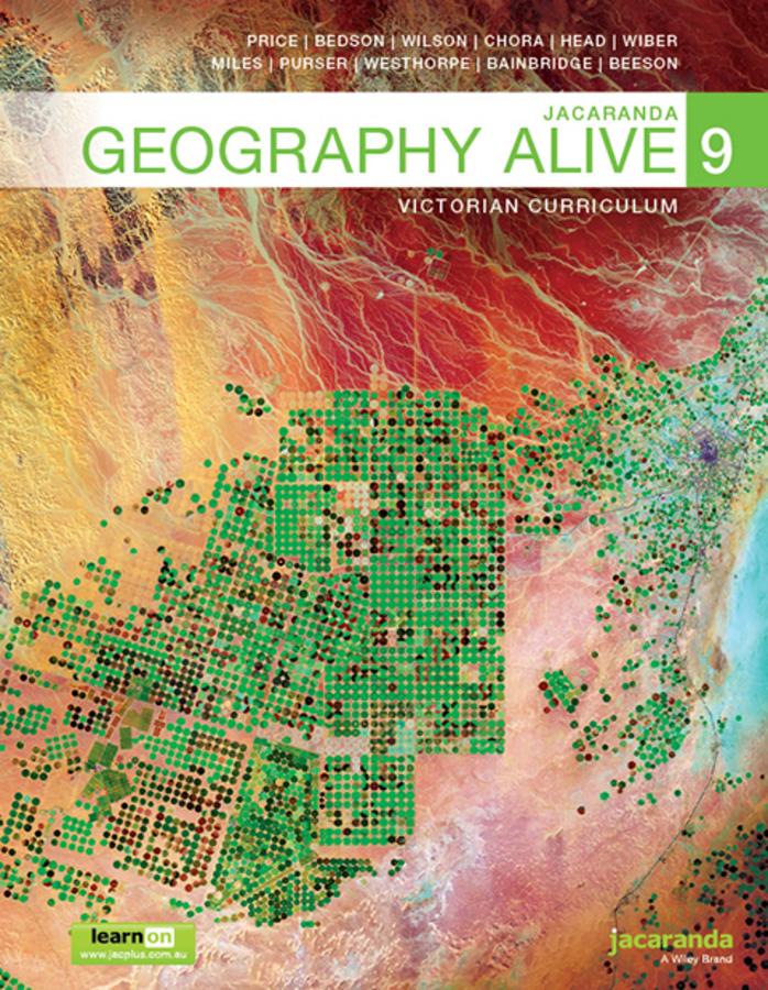 Jacaranda Geography Alive 9 Victorian Curriculum LearnON & Print
