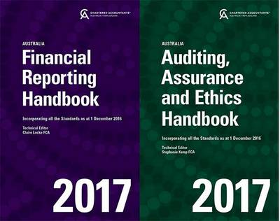 Financial Reporting Handbook 2017 Australia + Auditing, Assurance and Ethics Handbook 2017 Australia