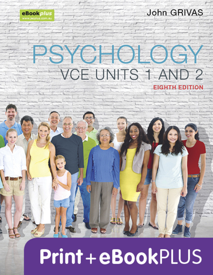 Psychology VCE Units 1 and 2 8e & eBookPLUS