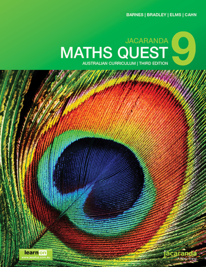 Jacaranda Maths Quest 9 Australian curriculum 3e learnON & Print