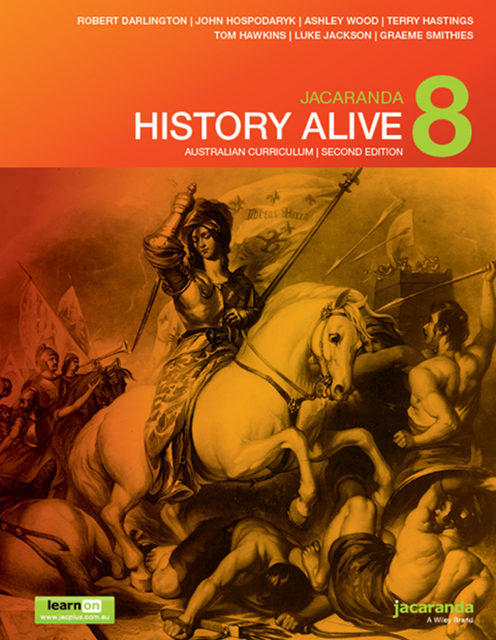 Jacaranda History Alive 8 Australian Curriculum 2e learnON & print