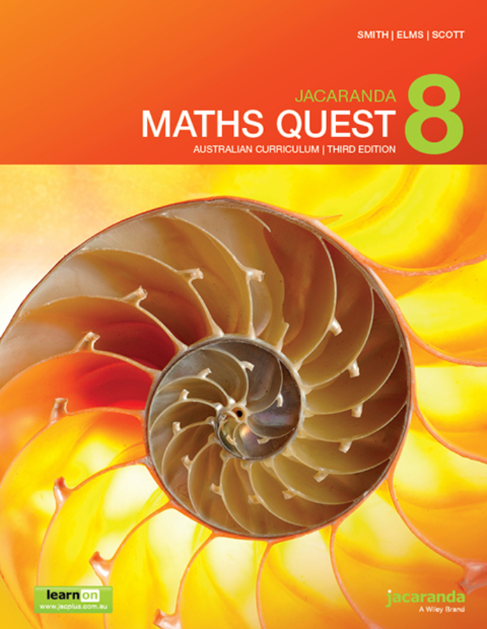 Jacaranda Maths Quest 8 Australian Curriculum 3e learnON & print
