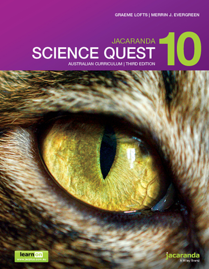 Jacaranda Science Quest 10 Australian Curriculum 3e learnON & Print